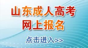 山东省成人高考网上报名